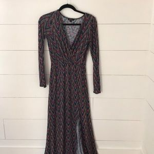Anthropologie Ella Moss Maxi Knit Dress
